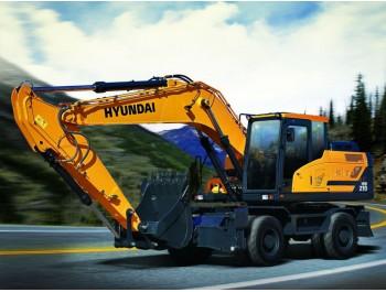 Hyundai HW210 ratasekskavaator
