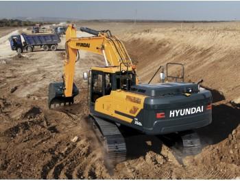 Hyundai HX260L roomikekskavaator