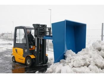 kallutusega lumesahk-kopp tõstuki kahvlite külge SK 2,1500 L.