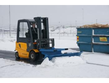 kahveltõstuki lumesahk SP30, laius 3000 mm